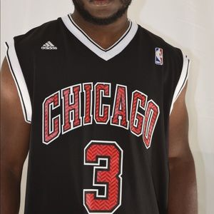 Dwayne Wade Chicago #3 Basketball Jersey